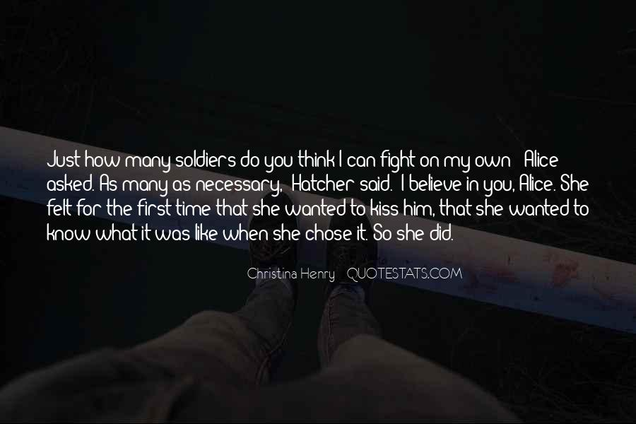 She Chose Him Quotes #1854694