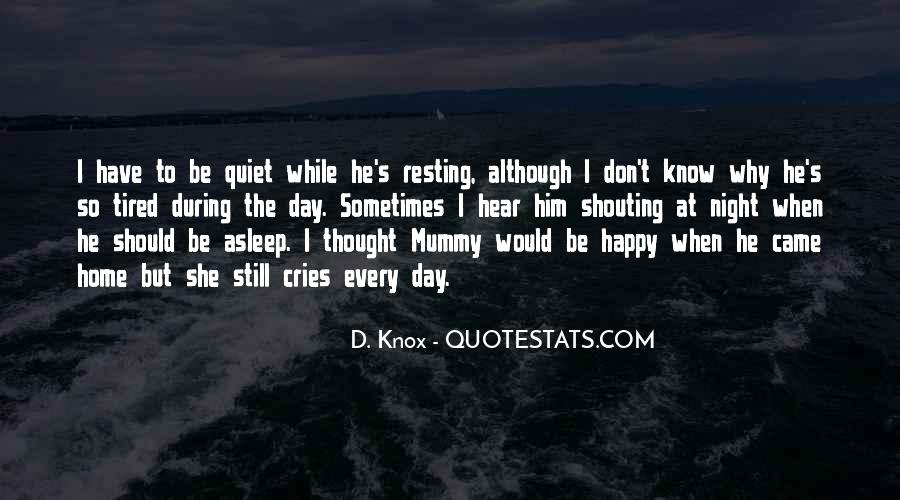 She Cries At Night Quotes #1542801