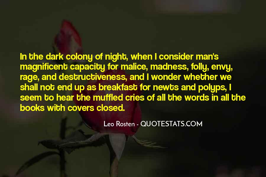She Cries At Night Quotes #1622800
