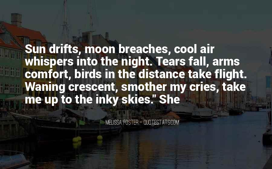 She Cries At Night Quotes #776679