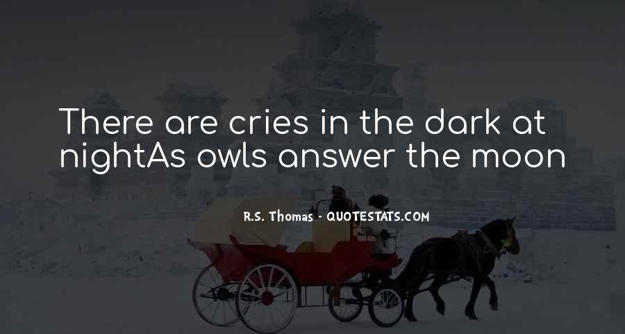 She Cries At Night Quotes #969999