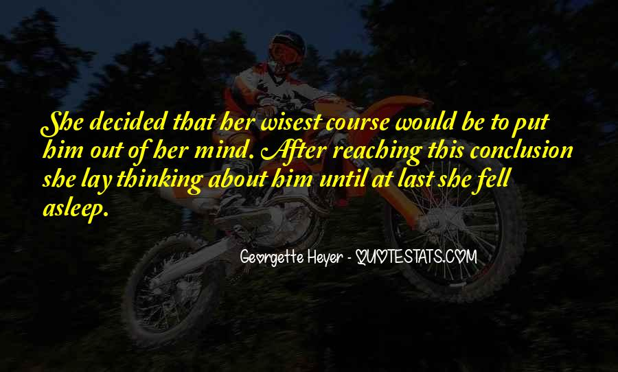 She Fell Asleep Quotes #1405609