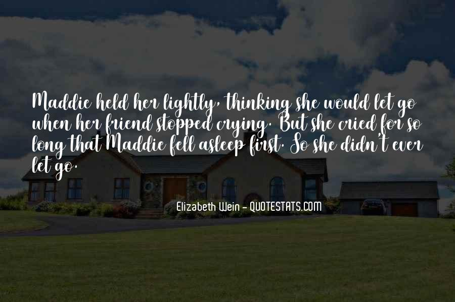 She Fell Asleep Quotes #1711596