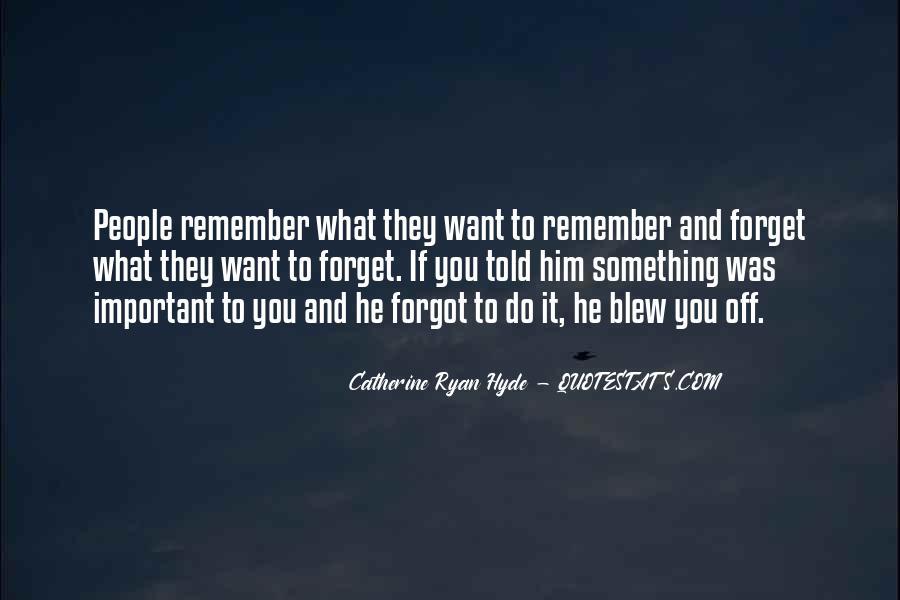 Quotes me you forgot Understanding Men: