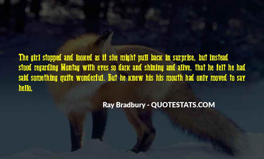 She Had Eyes Quotes #282097