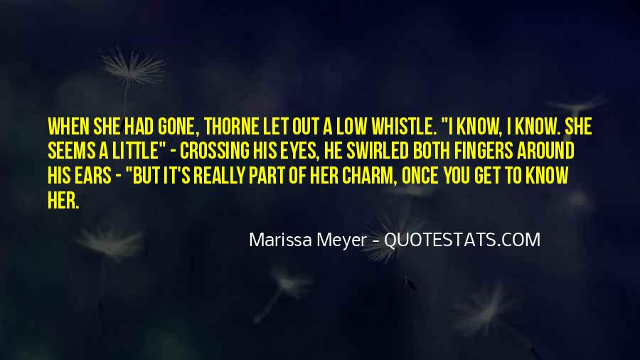 She Had Eyes Quotes #42555