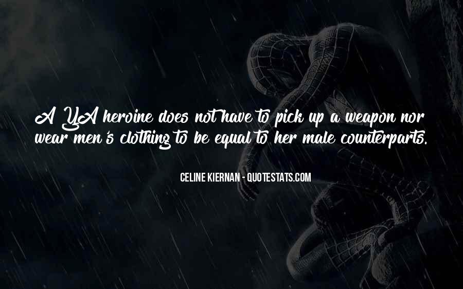 She Heroine Quotes #270273