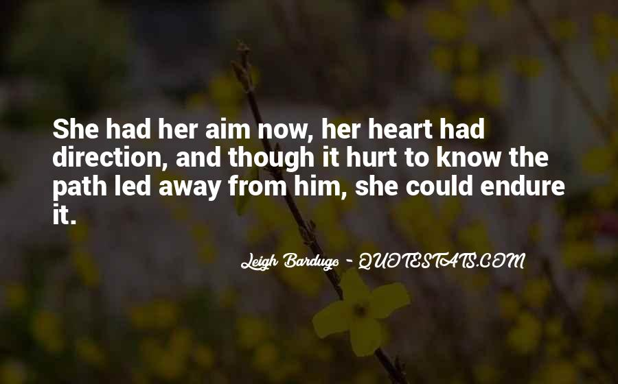 She Hurt Him Quotes #1483560