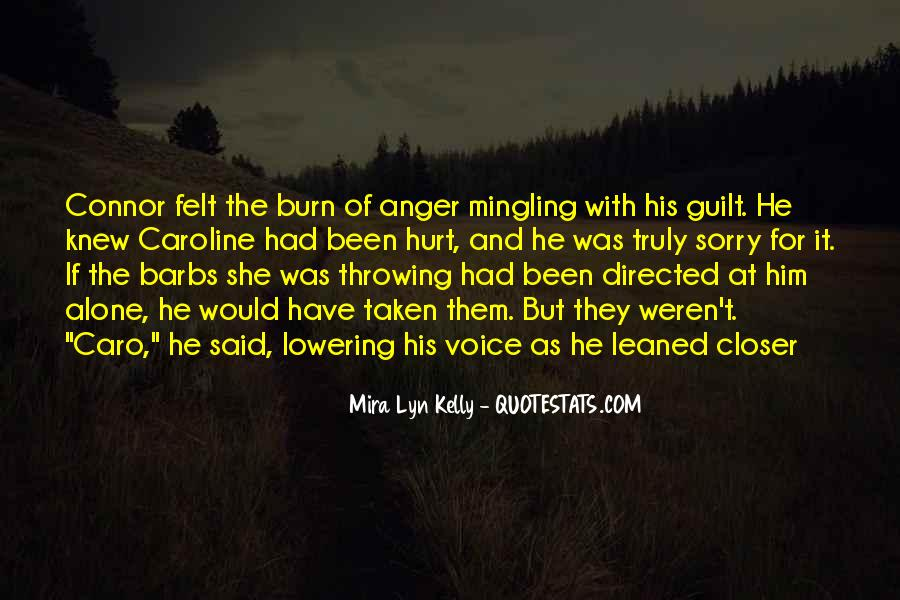 She Hurt Him Quotes #1490955