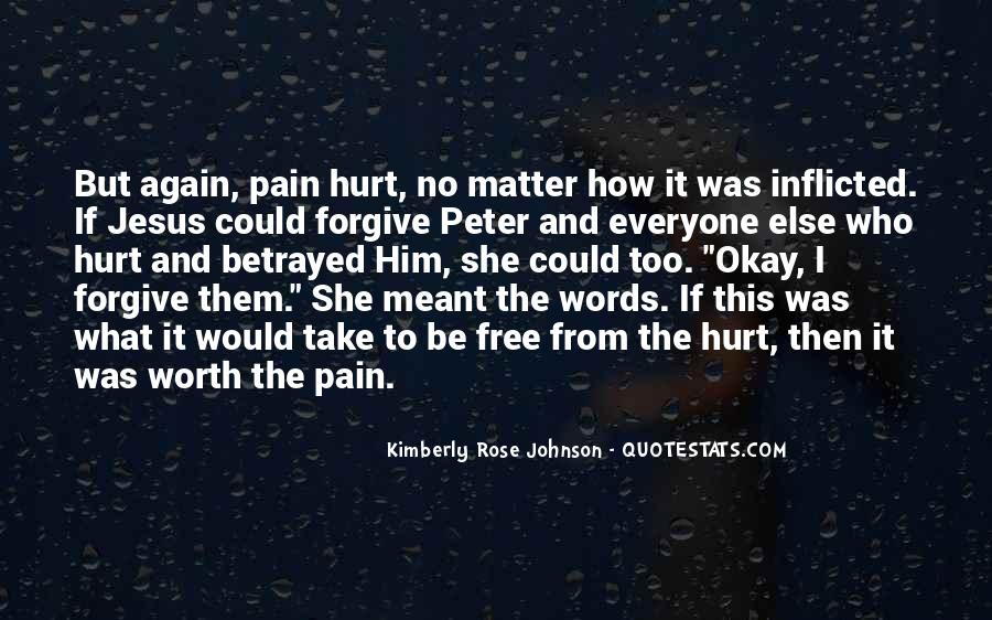 She Hurt Him Quotes #1658636