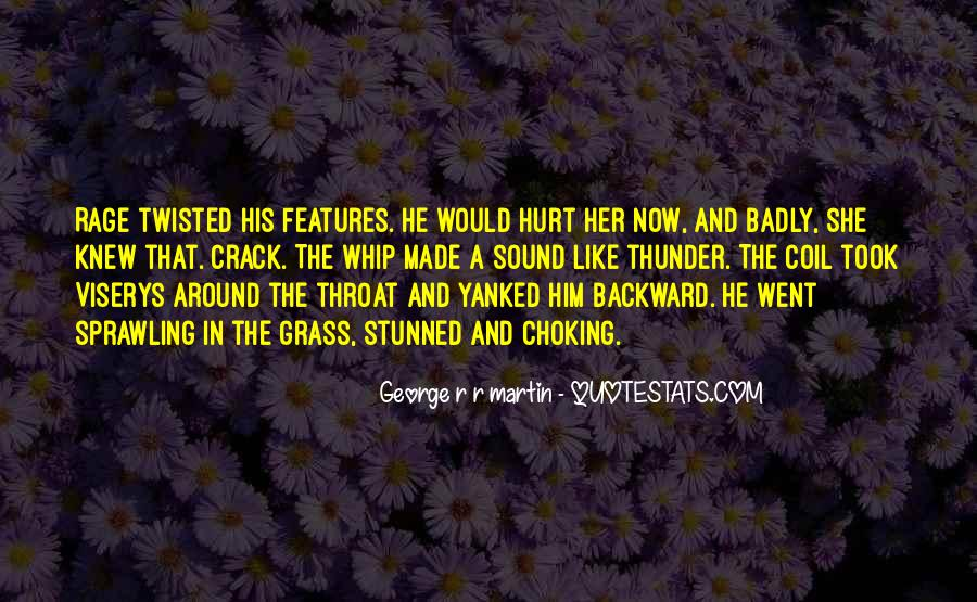She Hurt Him Quotes #1766763