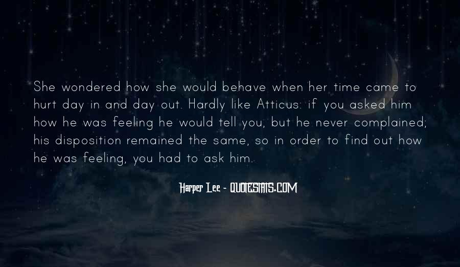 She Hurt Him Quotes #216656