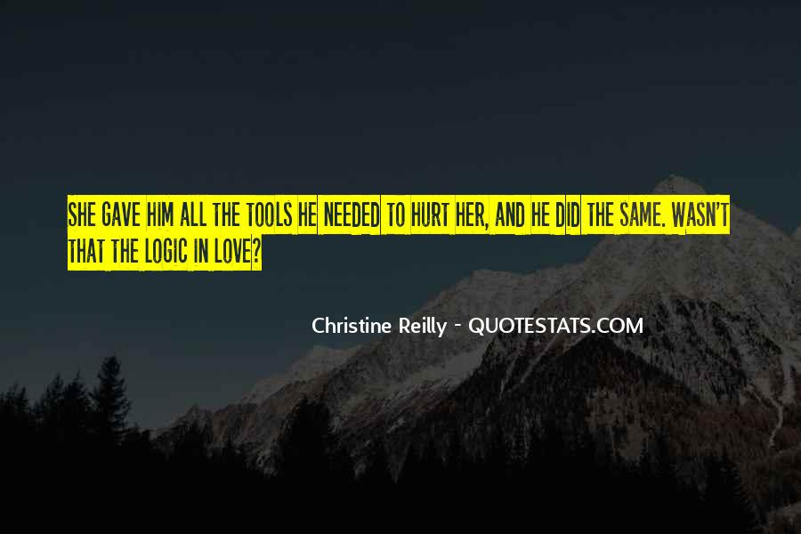 She Hurt Him Quotes #780781