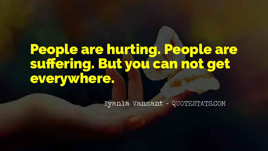 She Is Hurting Me Quotes #13086