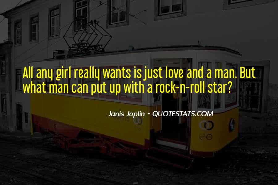 She Is My Rock Quotes #14979