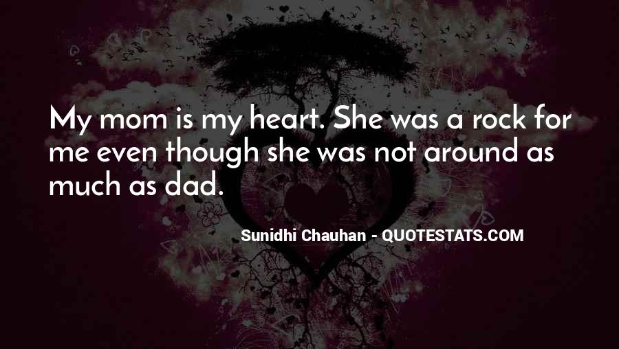 She Is My Rock Quotes #160726