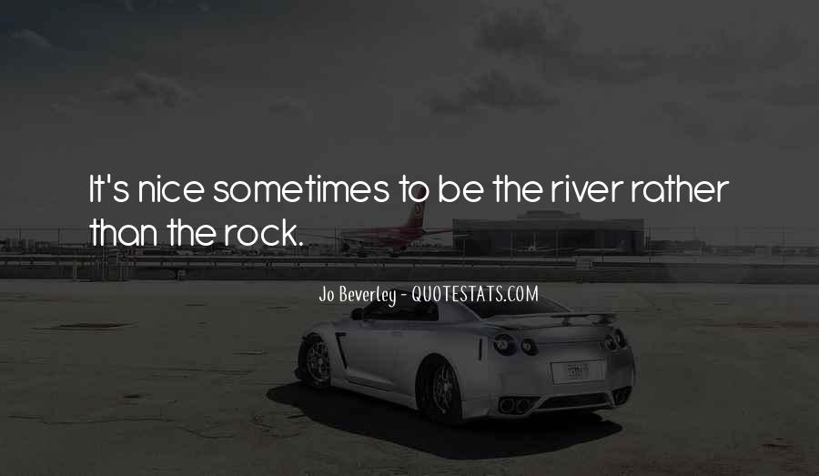 She Is My Rock Quotes #4030