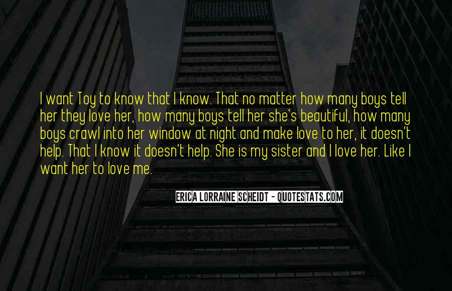 She Is My Sister Quotes #1054123