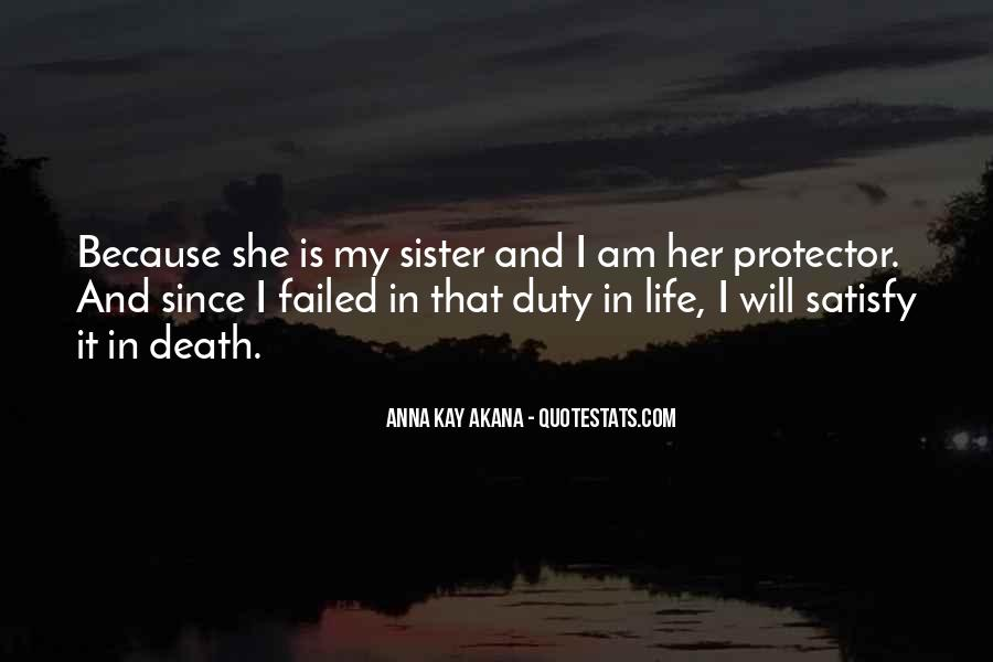 She Is My Sister Quotes #45852