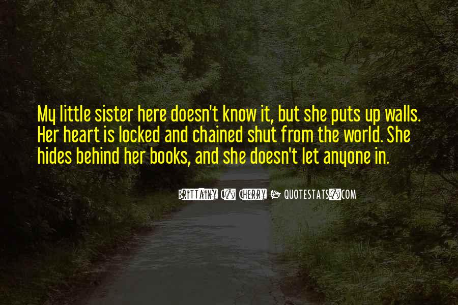 She Is My Sister Quotes #897187