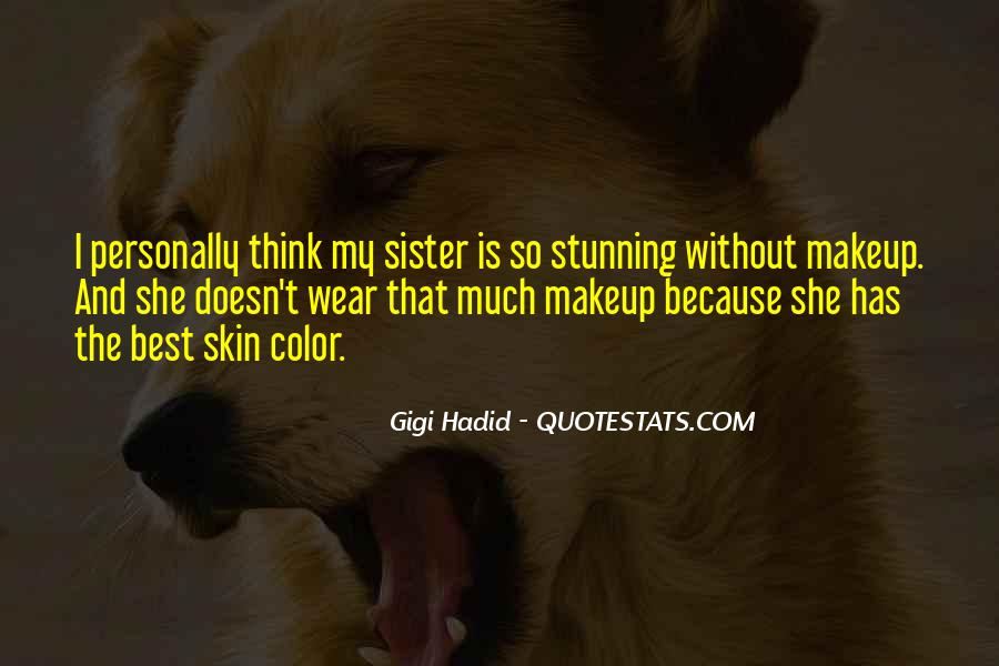 She Is My Sister Quotes #90949