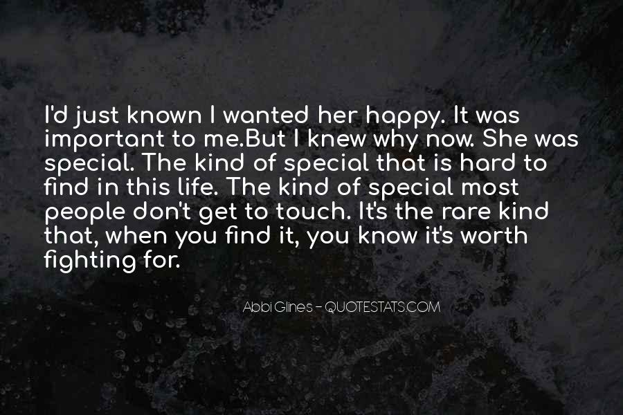 She Is Special Quotes #1183867