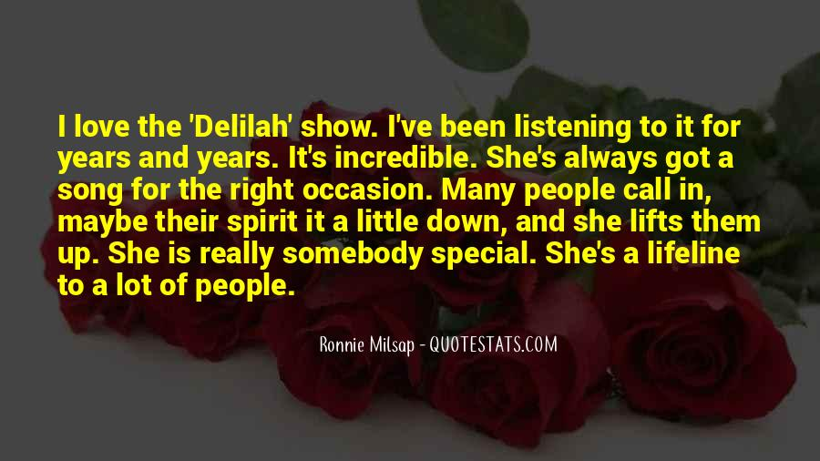 She Is Special Quotes #1301080