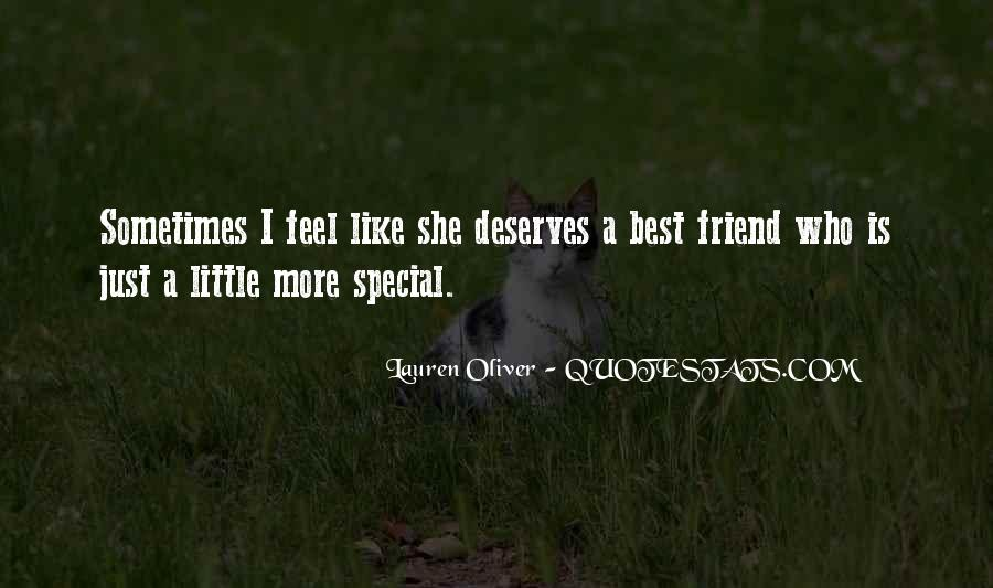 She Is Special Quotes #1629953