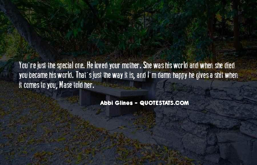 She Is Special Quotes #873771