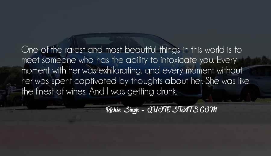 She Is The Most Beautiful Quotes #1191545