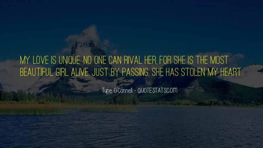 She Is The Most Beautiful Quotes #1513624