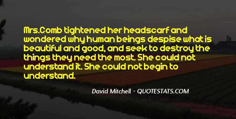 She Is The Most Beautiful Quotes #156332