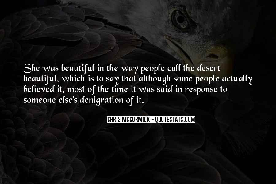She Is The Most Beautiful Quotes #26285