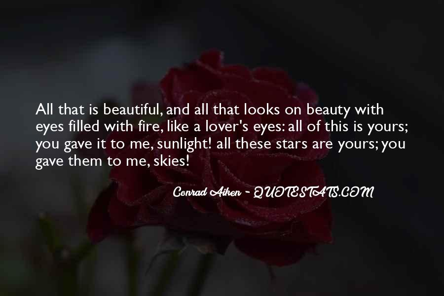She Is The Most Beautiful Quotes #3525