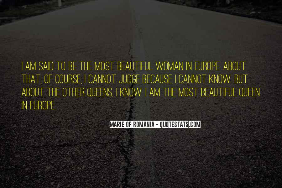 She Is The Most Beautiful Quotes #4886