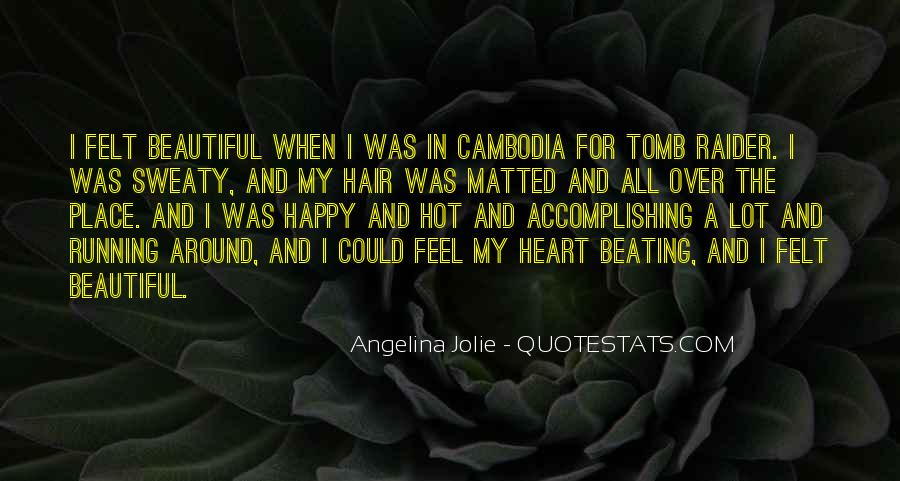 She Is The Most Beautiful Quotes #4922