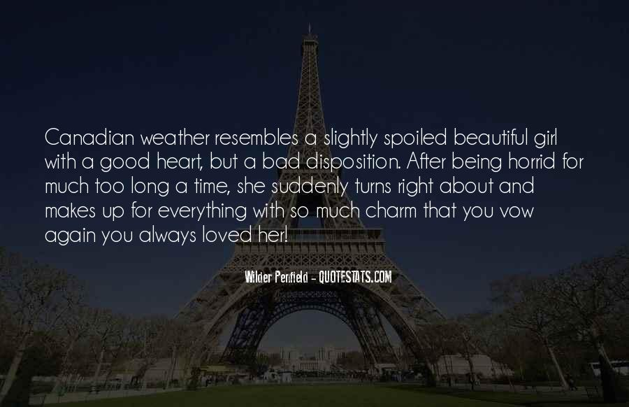 She Is The Most Beautiful Quotes #537