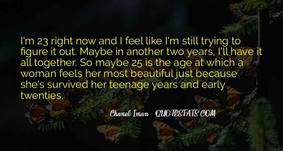 She Is The Most Beautiful Quotes #606662