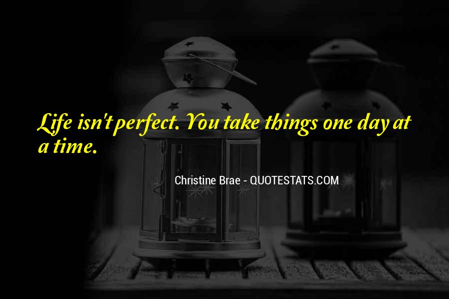 She Isn't Perfect Quotes #13368