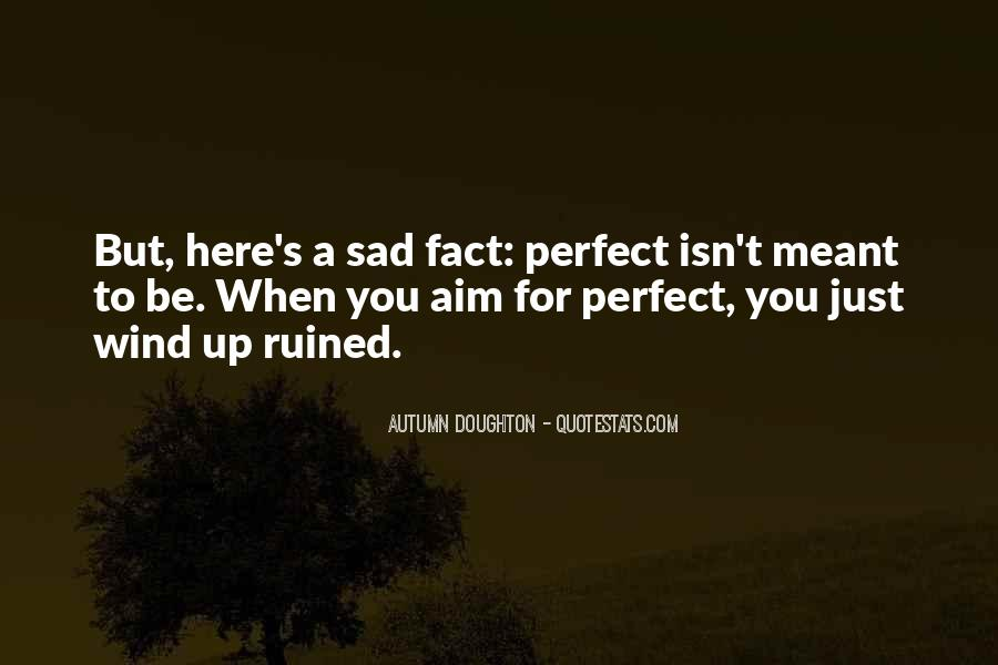 She Isn't Perfect Quotes #207689