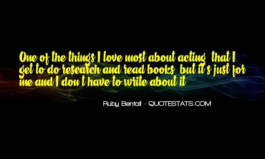 Quotes About Ruby #163260