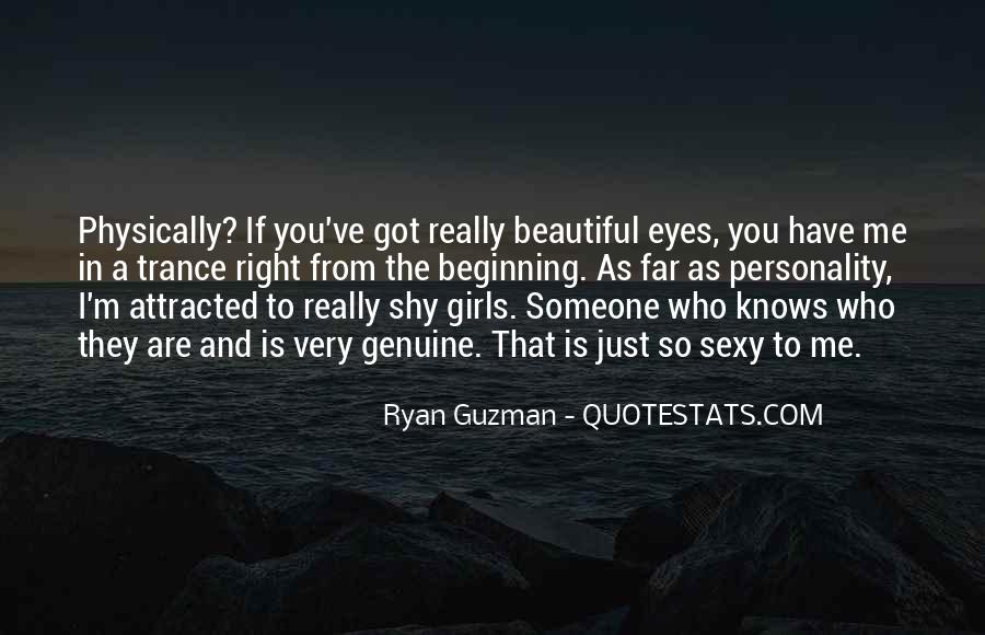 She Knows She's Beautiful Quotes #317061