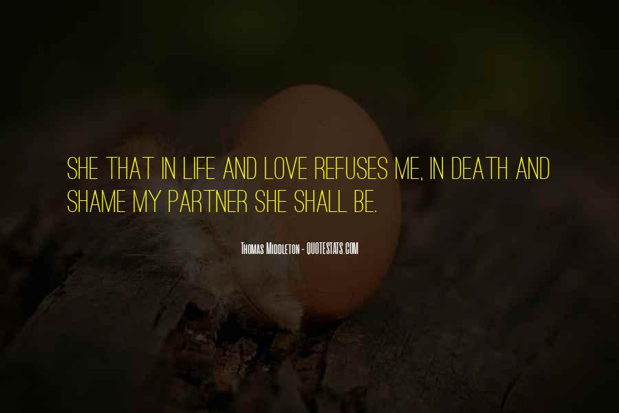 She Love Me Quotes #138028
