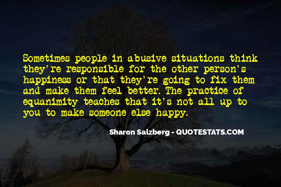 She Make Me Happy Quotes #23803