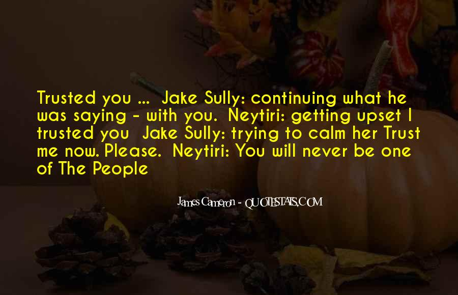 She Trusted You Quotes #23230