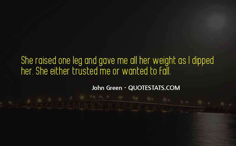 She Trusted You Quotes #66718