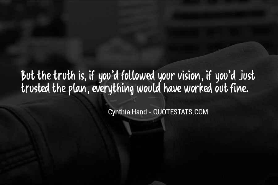 She Trusted You Quotes #72557