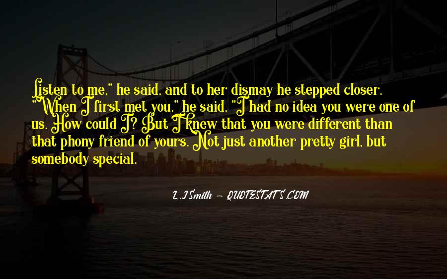 She's A Special Girl Quotes #1029109