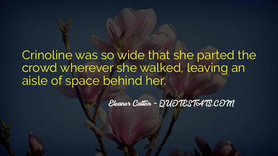 She's Leaving Soon Quotes #1488