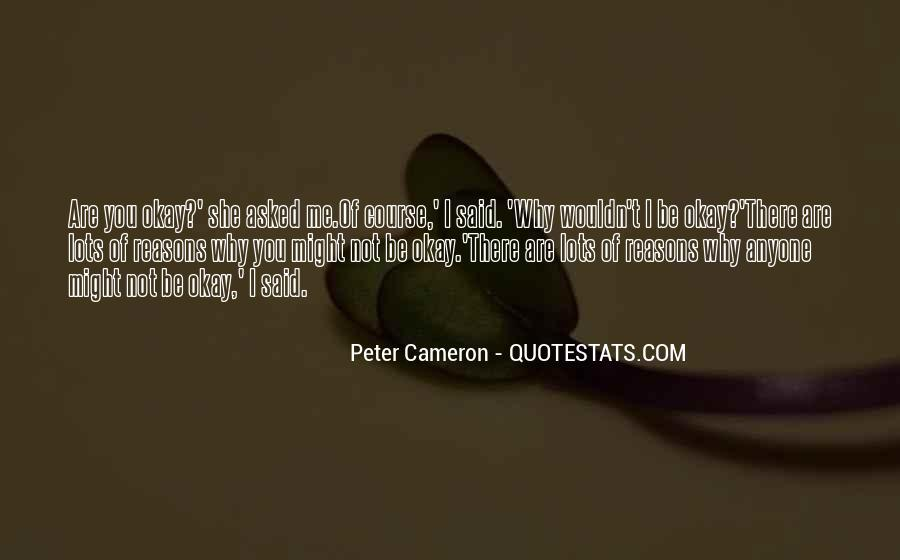She's Not Okay Quotes #1166288